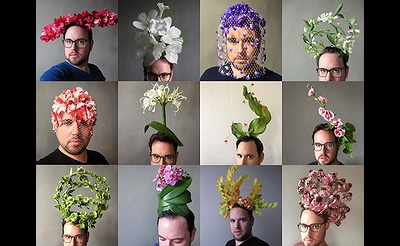 Beyond the Crown—A Floral Headpiece Workshop