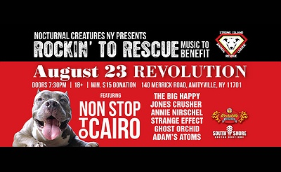 Rockin' To Rescue The Strong Island Animal Rescue League