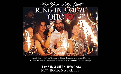 New Year's Eve Celebration at ONE10!